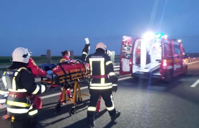 В Румынии автобус с украинцами врезался в колонну грузовиков – есть погибший и много раненых (ФОТО)