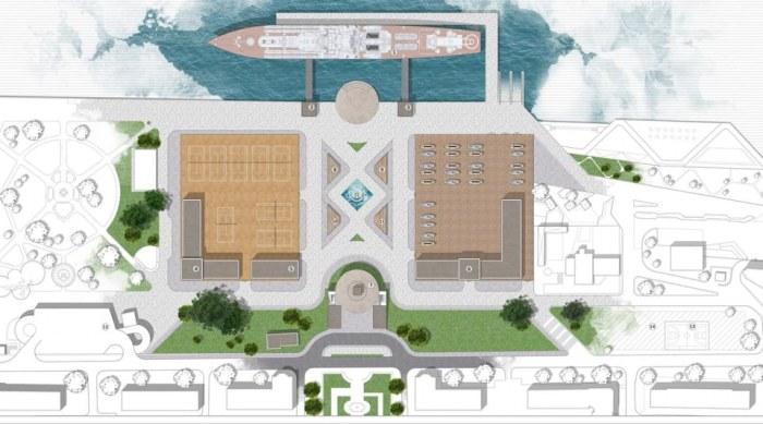 Фристайл или крейсер-музей? Два амбициозных проекта в Николаеве рассчитаны на одну территорию