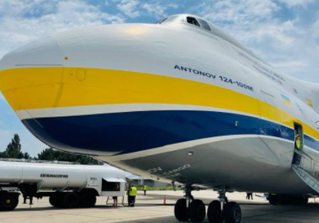 Николаевский аэропорт принял самолет «Руслан»