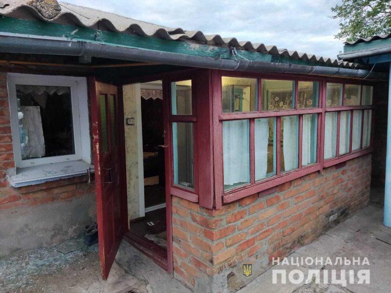 На Николаевщине в дом бросили гранату — за отказ дать наркотик (ФОТО)