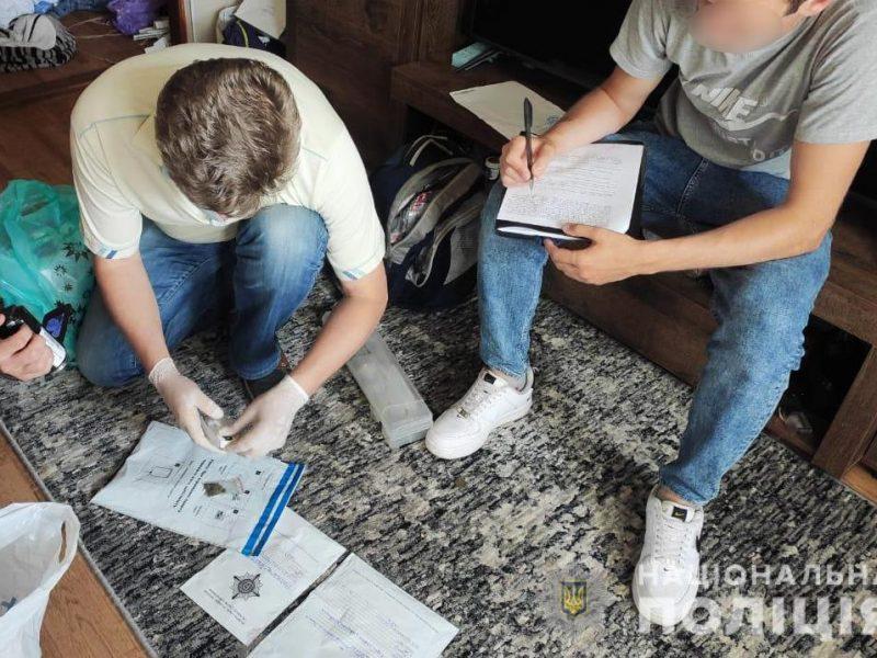 В Николаеве задержали закладчика – закладывал много и разное (ФОТО)