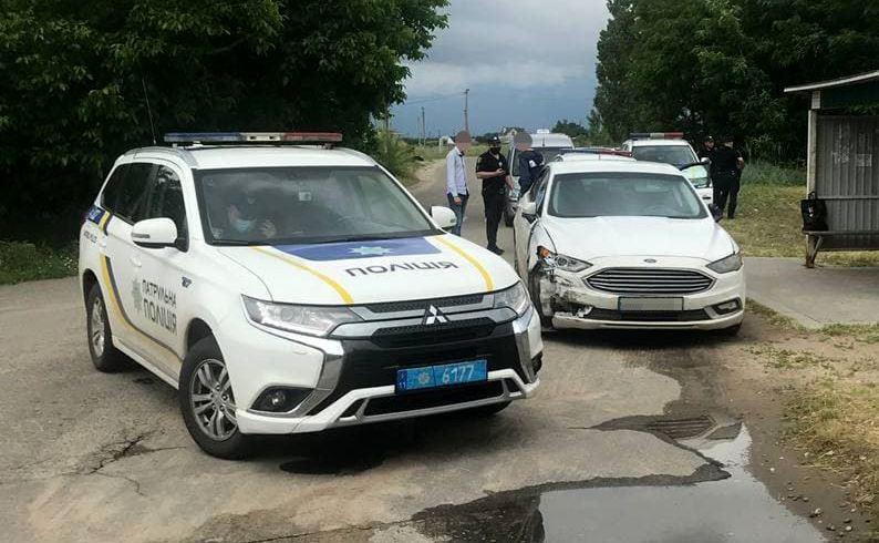В Николаеве одессит «под кайфом» совершил 18 ДТП – и был задержан патрульными (ФОТО)