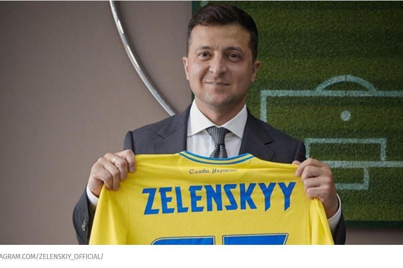"""""""Нас на поле будет 40 миллионов"""". Зеленский запустил флешмоб перед игрой со Швецией на Евро-2020  (ВИДЕО)"""