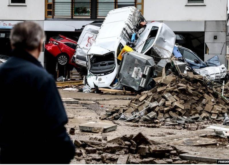 Наводнения в Западной Европе: затронуты 7 стран, погибли 183 человека (ВИДЕО)
