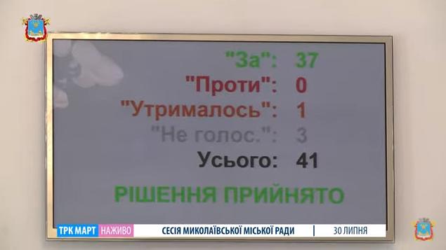Депутаты Николаевского горсовета выделили 37 га для отстойника для большегрузов