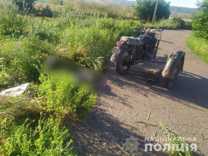 Ночью в Первомайском районе погиб мотоциклист