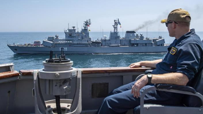 Американские военные корабли, участвовавшие в Sea Breeze, покинули Черное море