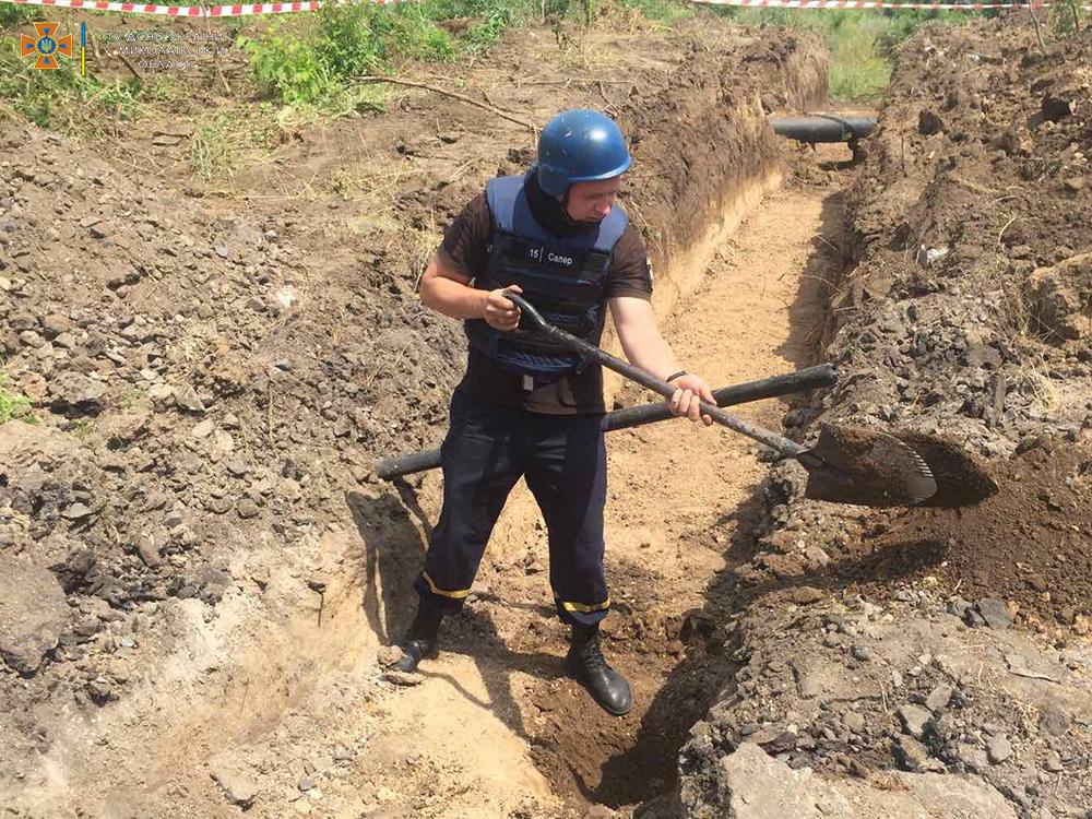 В Николаеве на стройплощадке нашли 51 артснаряд. Там может быть еще (ФОТО) 3