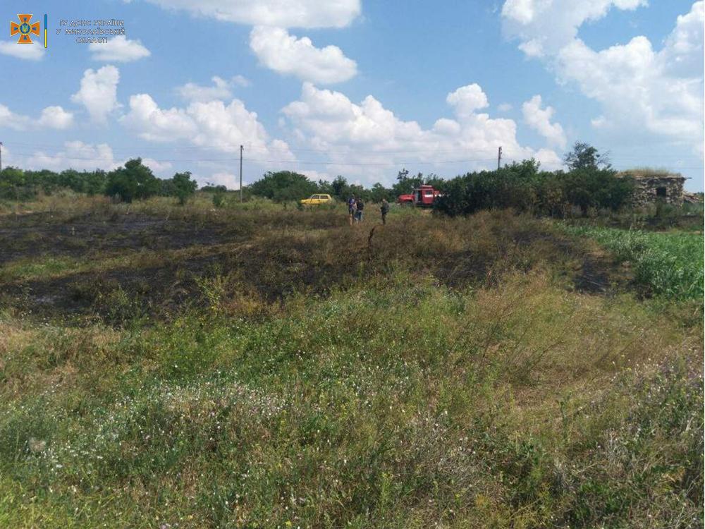 Сухая трава, мусор и стерня: на Николаевщине за сутки выгорело 12 га (ФОТО) 1
