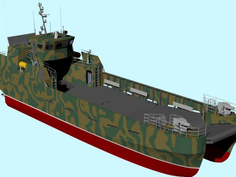 Может заменить «Сватово»: Николаевский опытно-проектный центр кораблестроения презентовал новый проект десантного катера