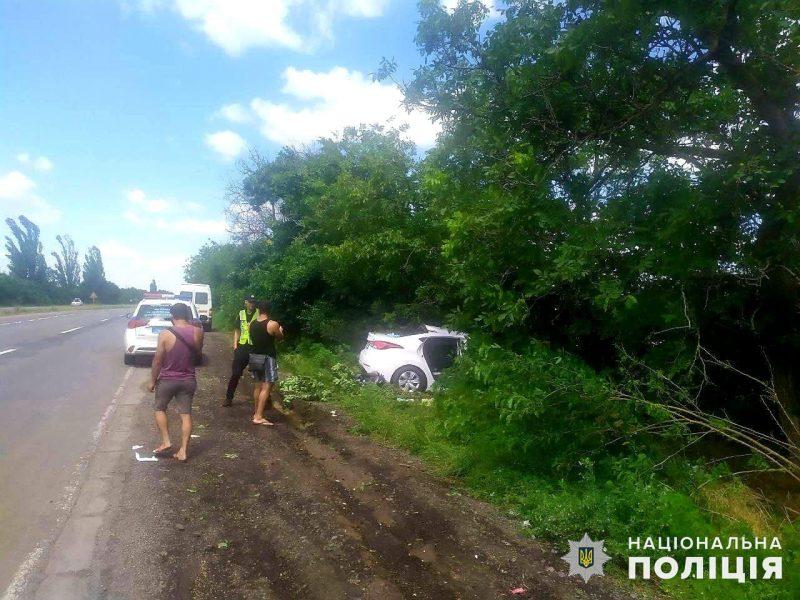 Под Николаевом в ДТП пострадали две женщины и двухлетний ребенок (ФОТО)