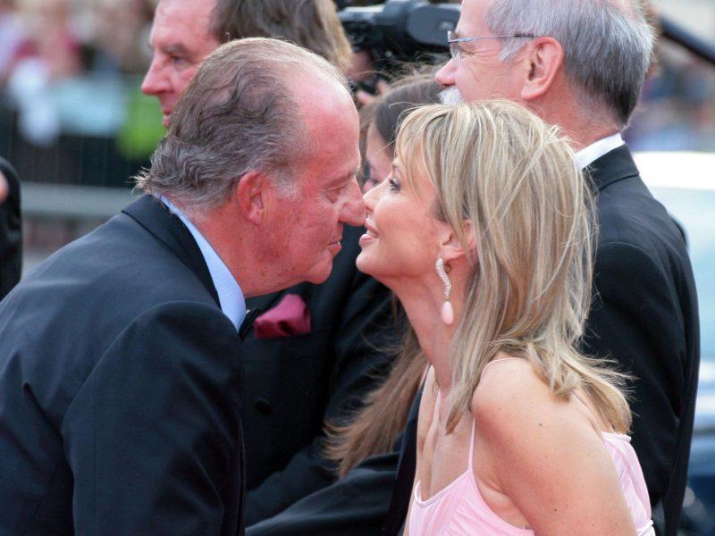 Бывшая любовница испанского короля Хуана Карлоса подала на него в суд