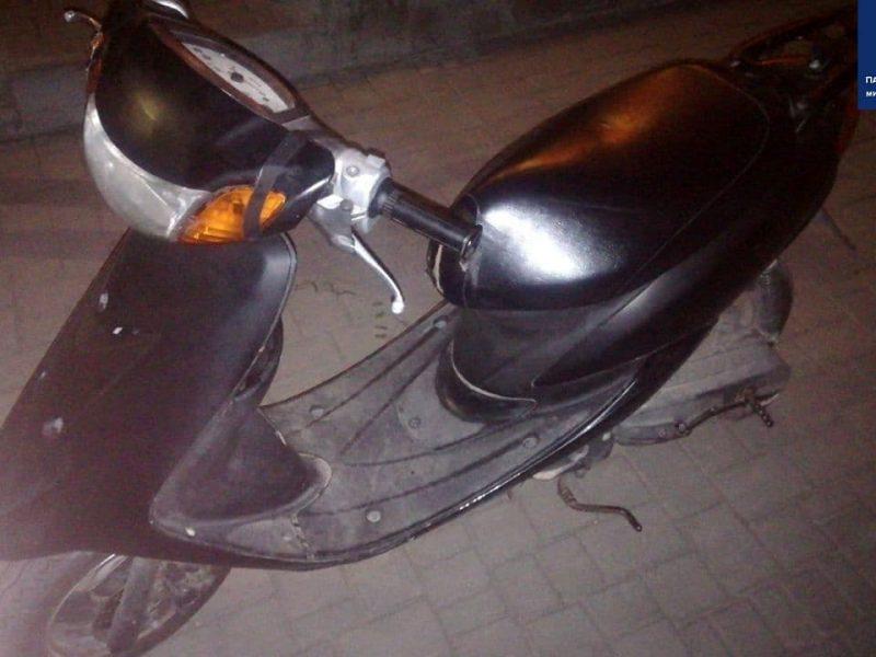 В Николаеве патрульные поймали пьяного мужчину на мопеде (ФОТО)