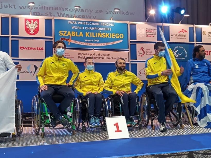 Николаевец Дмитрий Сереженко завоевал командное «золото» чемпионата мира по фехтованию на колясках (ФОТО) 1