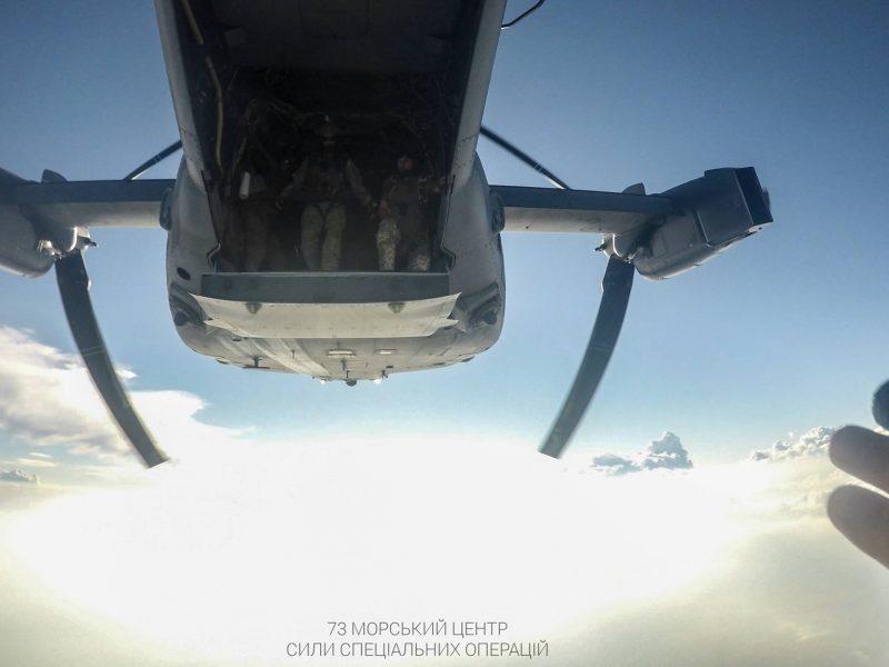На учениях Sea Breeze 2021 очаковские «морские котики» десантировались с американских конвертопланов (ФОТО)