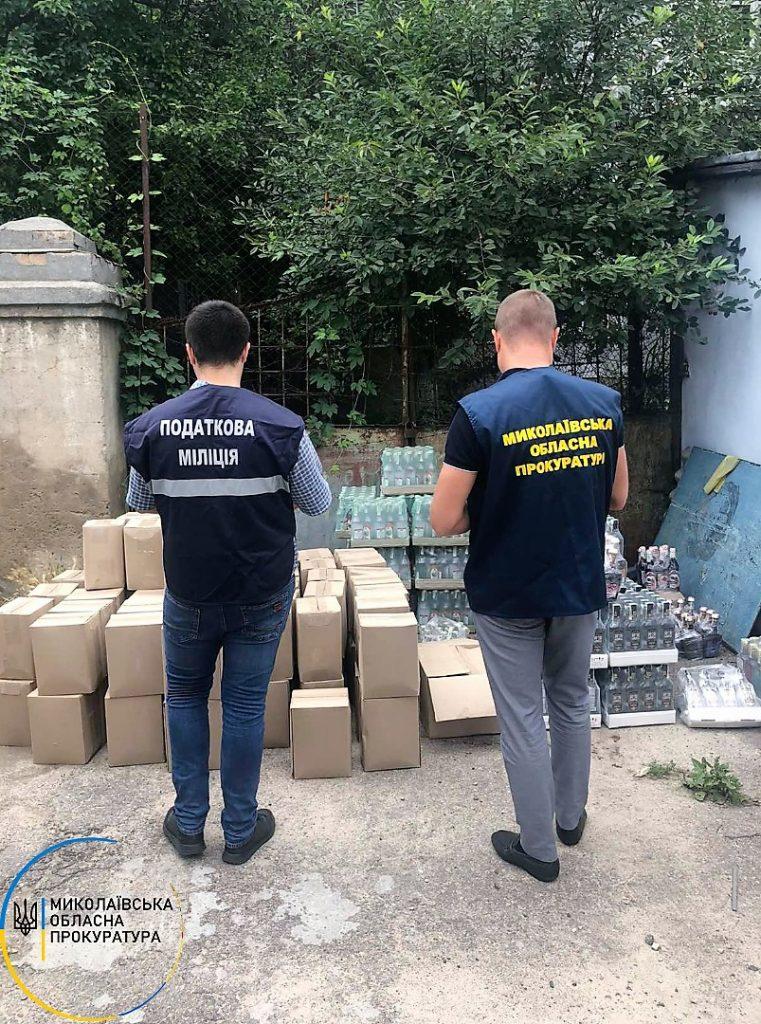 В Николаеве изъяли более 2 тонн фальсифицированной водки (ФОТО) 1
