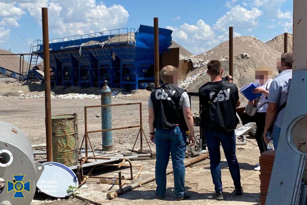 На Николаевщине СБУ пресекла незаконную добычу гранита фирмой подсанкционного Амирханяна и изъяла технику (ФОТО) 1
