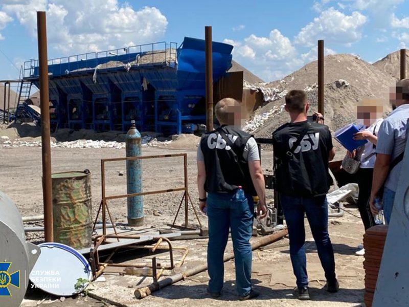 На Николаевщине СБУ пресекла незаконную добычу гранита фирмой подсанкционного Амирханяна и изъяла технику (ФОТО)