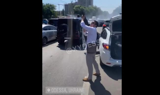 """Стрелявшим на """"чеченской свадьбе"""" в Одессе оказался украинец, принявший ислам"""