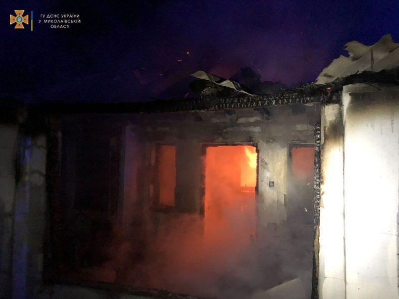 В Нечаянном на пожаре погибла женщина (ФОТО)