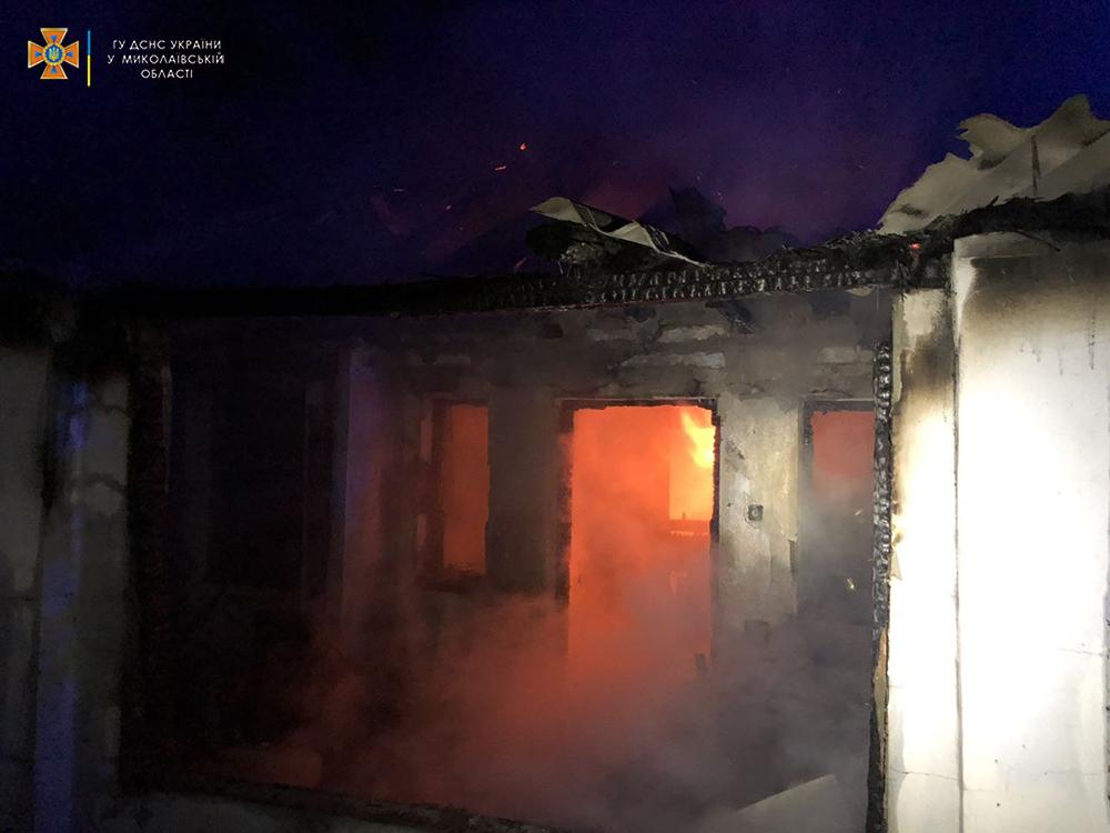 В Нечаянном на пожаре погибла женщина (ФОТО) 1
