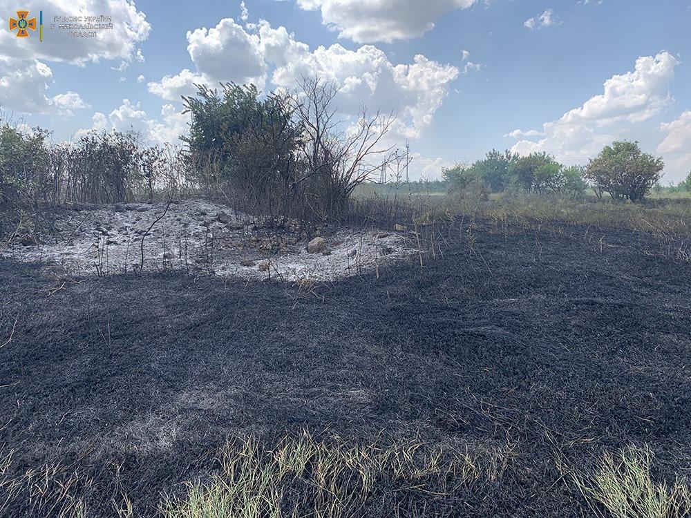 За сутки на Николаевщине выгорело более 33 га открытых территорий (ФОТО) 3