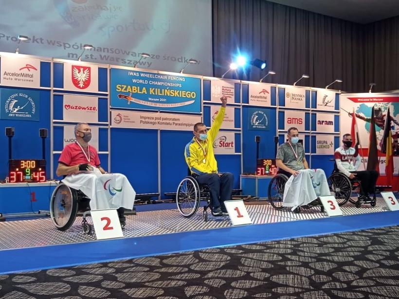 Николаевец Дмитрий Сереженко завоевал командное «золото» чемпионата мира по фехтованию на колясках (ФОТО) 5