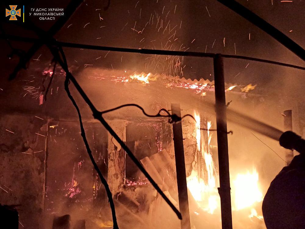 За сутки спасатели Николаевщины дважды тушили пожары в жилье (ФОТО) 5