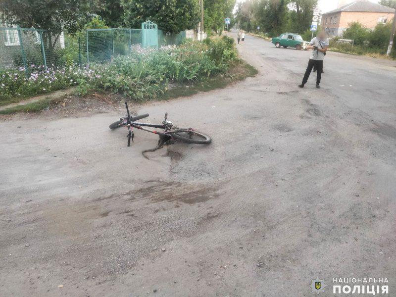 В Казанке сбили 16-летнего велосипедиста (ФОТО)
