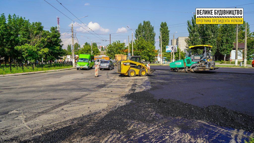 В Николаеве продолжается ремонт дороги М-14 - дошли до Терновского кольца (ФОТО) 3