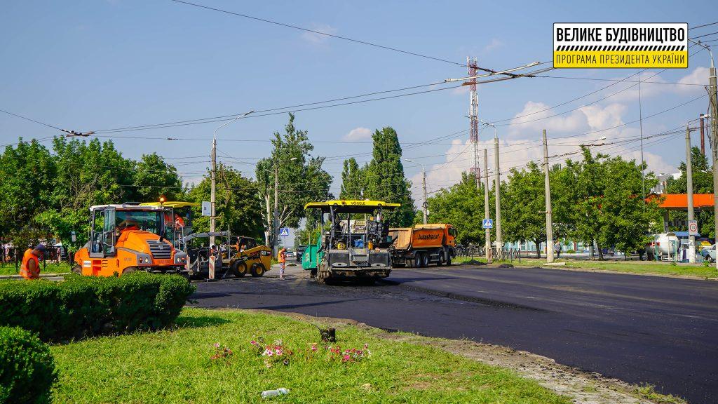 В Николаеве продолжается ремонт дороги М-14 - дошли до Терновского кольца (ФОТО) 7
