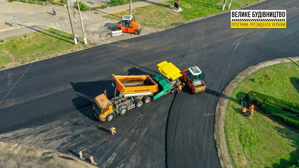 В Николаеве продолжается ремонт дороги М-14 - дошли до Терновского кольца (ФОТО) 11