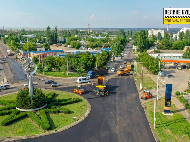 В Николаеве продолжается ремонт дороги М-14 – дошли до Терновского кольца (ФОТО)
