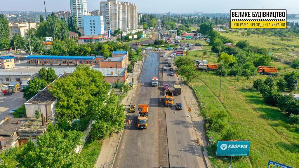 В Николаеве продолжается ремонт дороги М-14 - дошли до Терновского кольца (ФОТО) 19