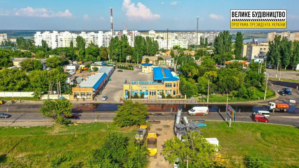 В Николаеве продолжается ремонт дороги М-14 - дошли до Терновского кольца (ФОТО) 21
