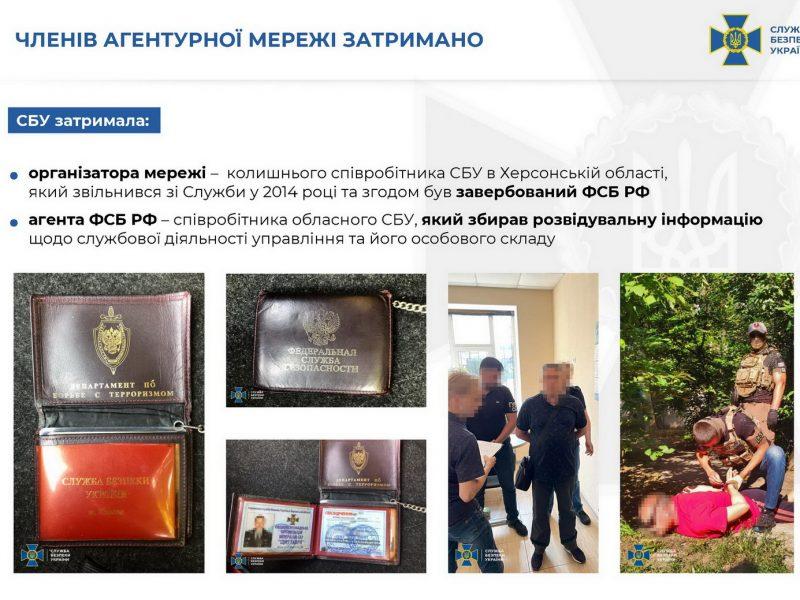 СБУ разоблачила агентурную сеть ФСБ – информаторами были херсонские чиновники и правоохранители (ФОТО)