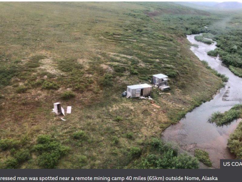 Как в кино. На Аляске мужчина неделю отбивался от гризли, его спас сбившийся с курса вертолет (ФОТО)