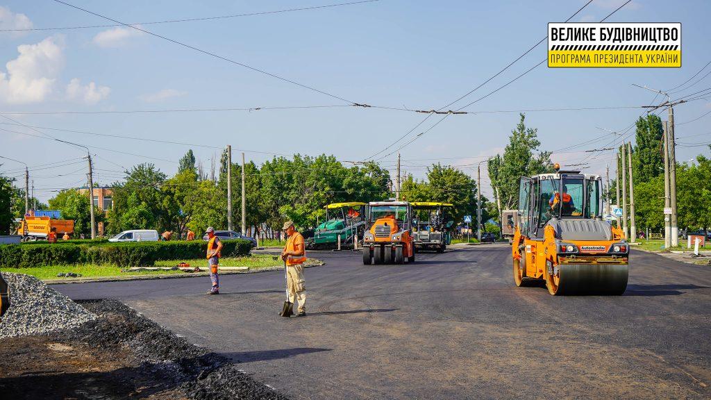 В Николаеве продолжается ремонт дороги М-14 - дошли до Терновского кольца (ФОТО) 1