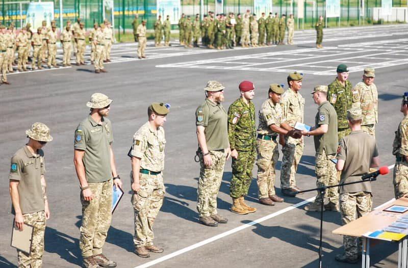 На Николаевщине завершились украино-британские военные учения «CossackMace 2021»