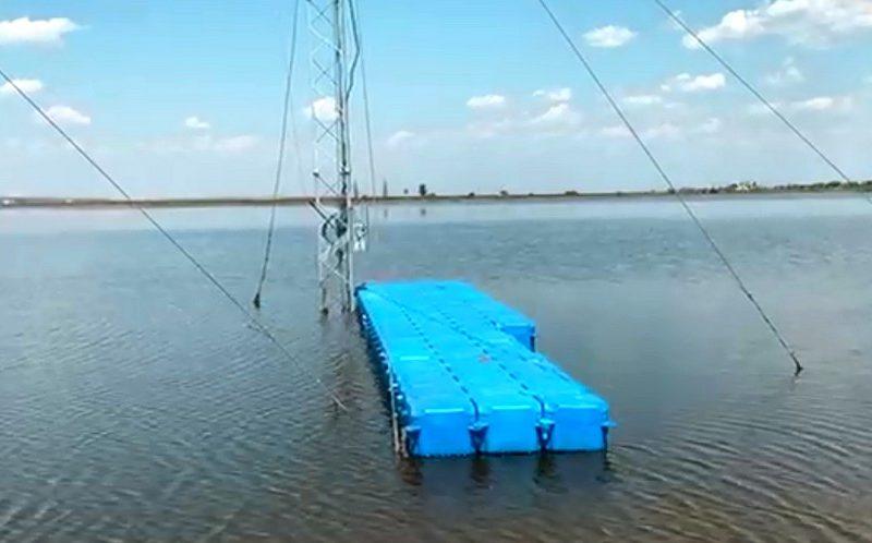 В РЛП «Тилигульский» без разрешений устанавливают водные аттракционы (ВИДЕО)