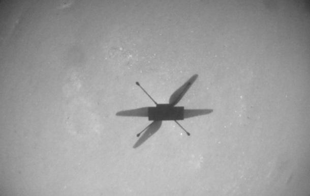 Вертолет NASA пролетел рекордные полтора километра на Марсе