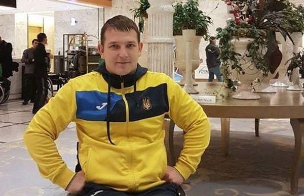 Николаевец Дмитрий Сереженко завоевал командное «золото» чемпионата мира по фехтованию на колясках (ФОТО)