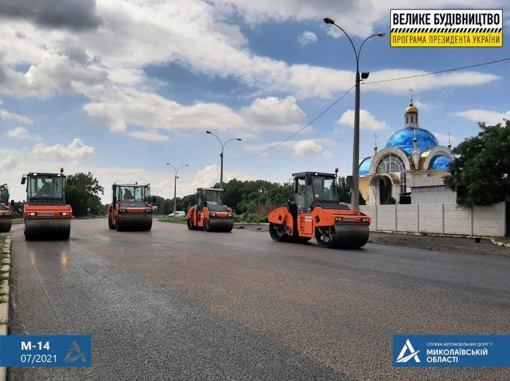 Ремонт дороги на въезде в Николаев: ул.Веселиновская перекрыта – там укладывают финишный слой покрытия (ФОТО) 5