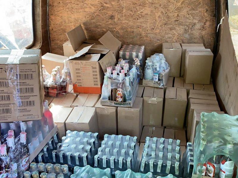 В Николаеве изъяли более 2 тонн фальсифицированной водки (ФОТО)