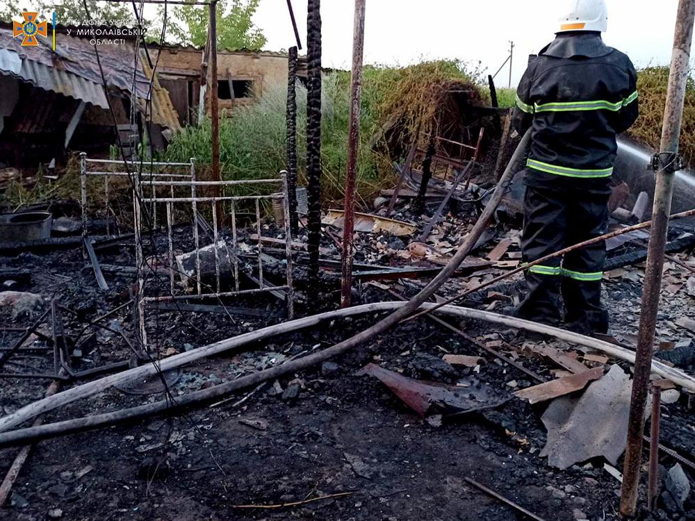 За сутки спасатели Николаевщины дважды тушили пожары в жилье (ФОТО) 7