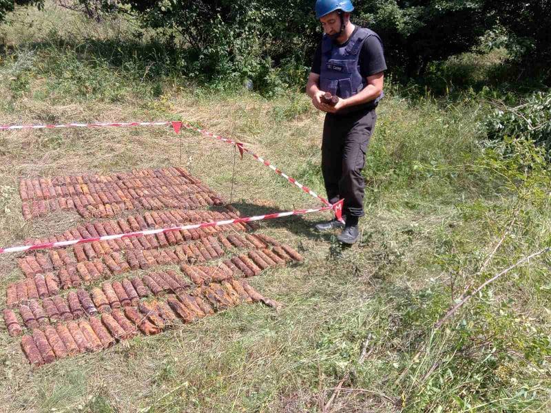 Неподалеку от Врадиевки нашли 300 артснарядов (ФОТО) 7
