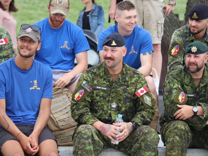 Вместе с николаевцами День ВМС отмечали и канадские военные (ФОТО)