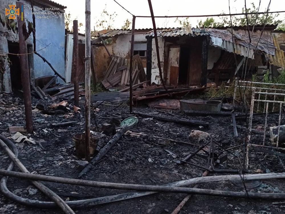 За сутки спасатели Николаевщины дважды тушили пожары в жилье (ФОТО) 1