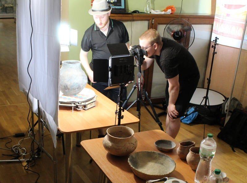 В Николаеве оцифровали артефакты, найденные в городище «Дикий Сад» (ФОТО)