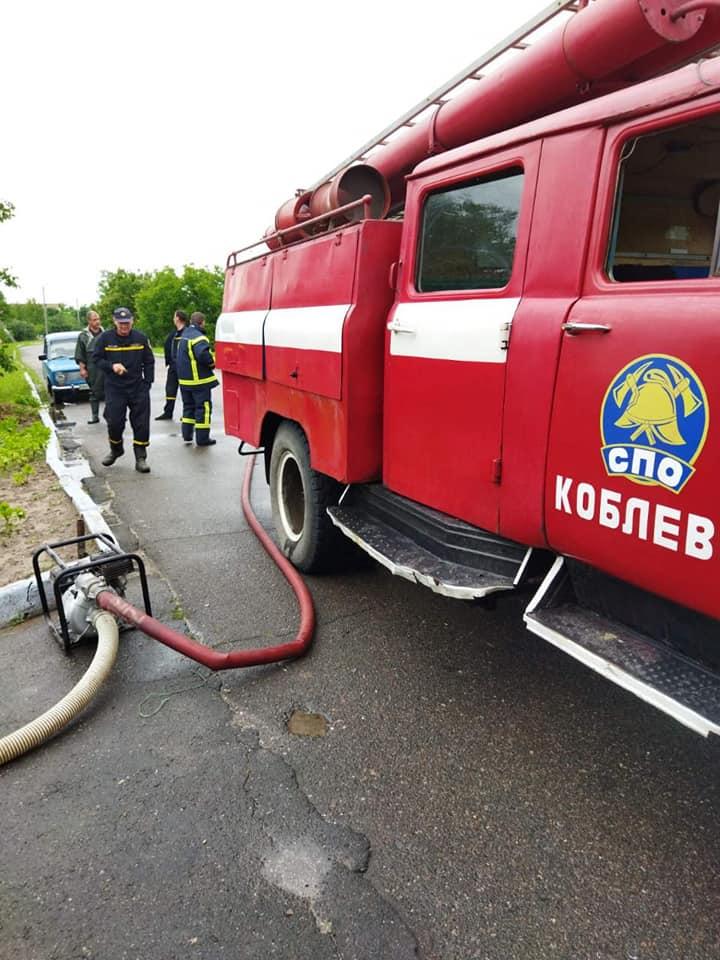 Затопило: спасатели Николаевщины откачивали воду из домов и помещений (ФОТО) 7